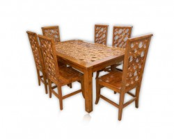 DINING DONNUT 6 SEATER