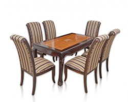 DINING SONO CHUSION 6 SEATER