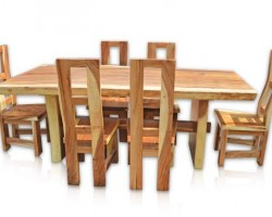 DINING TABLE MONKEY WOOD
