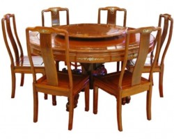 JP 026 (CARVING DINING TABLE OVAL)