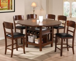 Round-Table-Dining-Room-Sets-With-Wooden-Style-Furniture-Sets-On-The-Fabulous-Option-Of-Decoration-On-Round-Dining-Tables