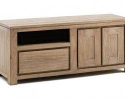 TCBN 011 (RECT TEAK TV STAND)